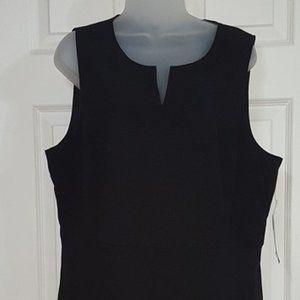 Kensie Black Sleeveless Jumper Dress Adult XXL
